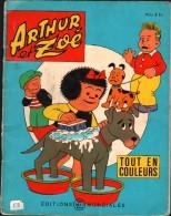 ARTHUR Et ZOE - 1965 - Editions Mondiales Del Duca - Tout En Couleurs - Magazines Et Périodiques