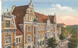 BEUTHEN  O.S. POSTAMT NON ECRIS - Poland