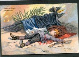 CPA - Illustration Paul Dufresne - Fusillé ! - Femmes De France, Souvenez-vous ! - Guerre 1914-18