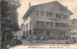 64 - PYRENEES ATLANTIQUES / Cambo Les Bains - Devanture Hôtel Du Trinquet - Maison Ithurbide - Animée - Cambo-les-Bains