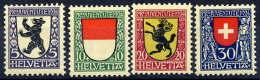 SWITZERLAND 1924 Pro Juventute Set MNH / **.  Michel 209-12 - Pro Juventute