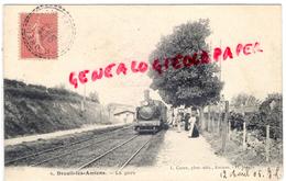 80 - DREUIL LES AMIENS - LA GARE  1906 - France