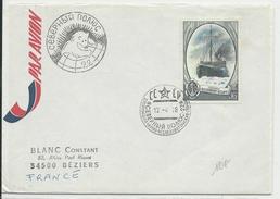 1978 - POLAIRE - ENVELOPPE D'URSS EXPEDITION ARCTIQUE - Forschungsprogramme