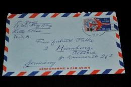 4- Aerogramme U.S.A. Nach Deutschland - Allemagne