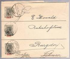 Romania, 1898, Newspaper Wrapper - 1881-1918: Charles I