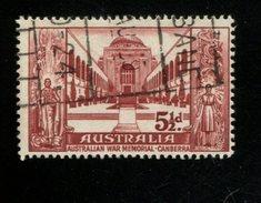 412577525 DB 1958 AUSTRALIA GEBRUIKT USED GEBRAUCHT OBLITERE YVERT 245 - 1952-65 Elizabeth II : Ed. Pré-décimales