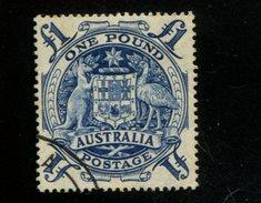 412577742 DB 1950 AUSTRALIA GEBRUIKT USED GEBRAUCHT OBLITERE YVERT 166 - 1952-65 Elizabeth II : Ed. Pré-décimales