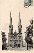 CPA PARIS - EGLISE SAINT JEAN BAPTISTE - BELLEVILLE - Eglises