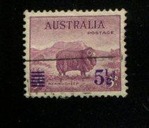 412578184 DB 1941 AUSTRALIA GEBRUIKT USED GEBRAUCHT OBLITERE YVERT 142 - 1952-65 Elizabeth II : Ed. Pré-décimales