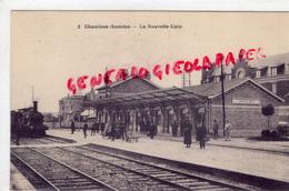 80 - CHAULNES - LA NOUVELLE GARE  1925 - Chaulnes