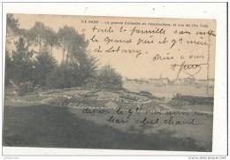 29 ILE GARO LA GRANDE CORBEILLE EN MOSAICULTURE ET VUE DE L ILE TUDY CPA BON ETAT - France