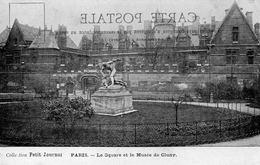 CPA PARIS - LE SQUARE ET LE MUSEE DE CLUNY - COLLECTION PETIT JOURNAL - Squares