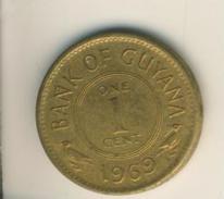 Guyana V. 1969  1 Cent  (49154) - Guyana