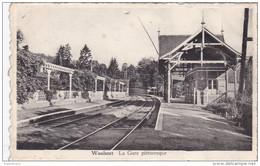 Hastiere Waulsort La Gare Pittoresque Station Statie Zeldzaam - Rare - Hastière
