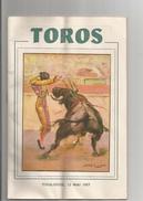 PROGRAMME ET BILLET DE LA CORRIDA DE BIENFAISANCE DE TOULOUSE (ARENES DU SOLEIL)  1957 (MATADORS ORDONEZ. OSTOS .CHAMACO - Sports