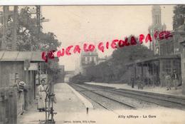80 - AILLY SUR NOYE - LA GARE   1904 - France