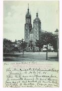 1900 - Cracovie-Krakow-Kosciol Panny Maryi Z Pomnikiem Mickiewicza - Pologne - Poland - Polska- Stamp/timbre - Pologne