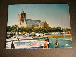 Pstk2854 : Blankenberge - Sint-Antonius Kerk - Bmw 2002 - Simca 1000 1100 Ford Granada NSU Volvo 120 - Blankenberge