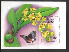1994 Sierra Leone Orchids Complete Set  Of 8 & 2 Souvenir Sheets MNH - Orchids