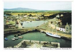 RB 1129 - Judges Postcard - Bird's Eye View Of Castletown Harbour - Isle Of Man - Isle Of Man