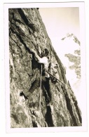 RB 1129 - Real Photo Postcard - Climbing Mountaineering - First Ascent Germany Austria - Climbing
