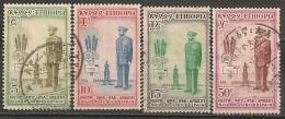 Timbres - Afrique - Ethiopie - Silver Jubilee Fair - 1955 - Série Complète De 4 Timbres - - Ethiopie