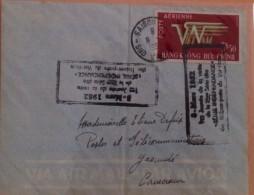 FDC Vietnam Viet Nam Cover 1952 With Anniversary Handstamps : Airmail / Collection Break - Vietnam