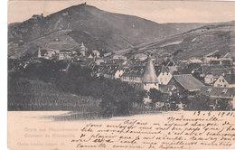 Cpa Du Haut-Rhin - Gruss Aus Rappoltsweiler - Vers 1900 - Ribeauvillé