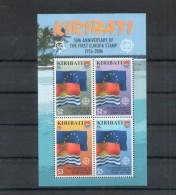 Kiribati. 50e Anniversaire émission Europa. Bloc - Kiribati (1979-...)