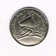 °°°   PENNING  NED.CHR.REISVEENIGING - Pièces écrasées (Elongated Coins)