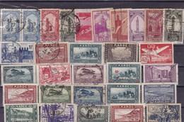 MAROC : Y&T : Lot De 30 Timbres Oblitérés - Maroc (1891-1956)
