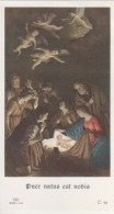 HOLY CARD, SANTINO D'EPOCA - ED.G.MI  Serie C. - Puer Natus Est Nobis - C. 49 - Devotieprenten