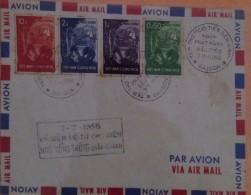 FDC Vietnam Viet Nam 1958 : People Live's Improvement / Collection Break - Vietnam