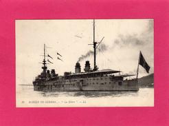"""MARINE DE GUERRE, """"La Gloire"""", Animée, Bateau Cuirrassé, 1919, (L. L.) - Materiale"""