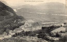 CPA FORT DE PIERRE-CHATEL VU A VOL D'OISEAU - Frankrijk