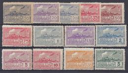 """URUGUAY - 1939-40 - Serie De P. Aérienne """" Char à Boeufs """"  N° 89 à 96 + 99 Et 100 - Neufs Sans Charnières - XX - TB - - Uruguay"""