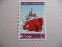 "Espagne   1991  N° Y&T 2759    "" Bateau Le Las Palmas""  1v.  Neuf - 1931-Today: 2nd Rep - ... Juan Carlos I"