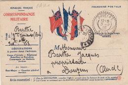 Carte Franchise Postale Douzens Aude