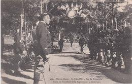 Cpa Du 68 - St Amarin - Arc De Triomphe - Visite Du Président De La République - 9 Août 1915 - Militaires - Saint Amarin