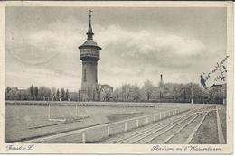 BERLIN.Stadion Mit Wasserturm.01.01,1929. POSTCARD STADIUM STADIO STADE ESTADIO - Stadiums
