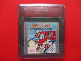 Cartouche Jeu Game Boy Color LUCKY LUKE LE TRAIN DES DESPERADOS - Nintendo Game Boy