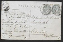 Cachet  Pointillé  RABELAIS   ALGER - 1877-1920: Période Semi Moderne