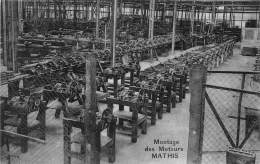 67 - BAS RHIN / Strasbourg - Mathis Automobiles - Montage Des Moteurs - Strasbourg