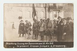 67 Dép.- Strasbourg: Einzug Der Franzosen Am 22 Nov. 1918 - Le Premier Drapeau Français à Strasbourg. Carte Postale Non - Strasbourg