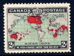 Canada  Sc# 86  (o)  Used   1898 - 1851-1902 Regno Di Victoria