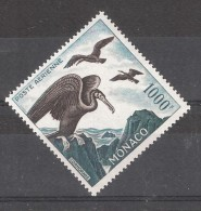 MONACO, Poste Aérienne N° 68 , Cormoran Albatros , 1000 F , Dentelé 13 , Neuf * , Quasi **, TTB , Cote 120 Euros - Albatros