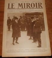 LE MIROIR. N° 55. Dimanche 13 Décembre 1914. Deux Aviateurs Sur Le Front. Aviateur Allemand Capturé Vivant à Reims. - Livres, BD, Revues