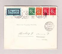 Finnland HELSINKI 5.4.1940 Luftpostbrief Nach Zürich - Finlande