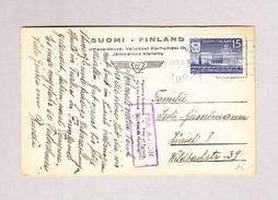 Finnland TURKU 4.6.1950 Ansichtskarte Per Luftpost Nach Zürich Motiv Turku #534 - Finlande