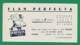 Buvard - FLAN PERFECTA - Blotters